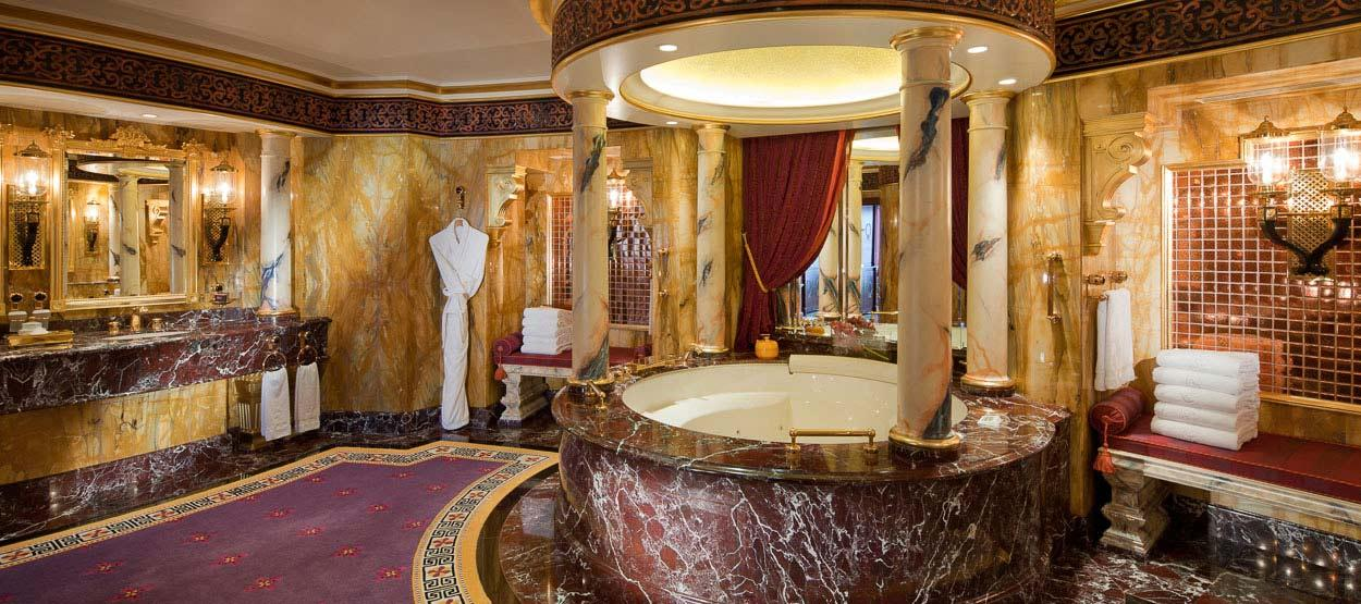 The most expensive hotel rooms in the world for Burj al arab per night